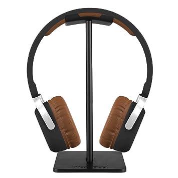 Soporte para auriculares, Aolvo Soporte de aluminio universal portátil Auricular que muestra el soporte para Xbox One PlayStation Auriculares estéreo ...