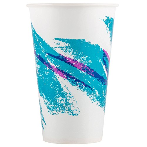 TableTop King R12N-00055 Jazz 12 oz. Wax Treated Paper Cold Cup - 2000/Case by TableTop King