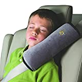 Christmas XMAS Gift for Friends, Egmy Baby Children Safety Strap Car Seat Belts Pillow Shoulder Protection (Gray)