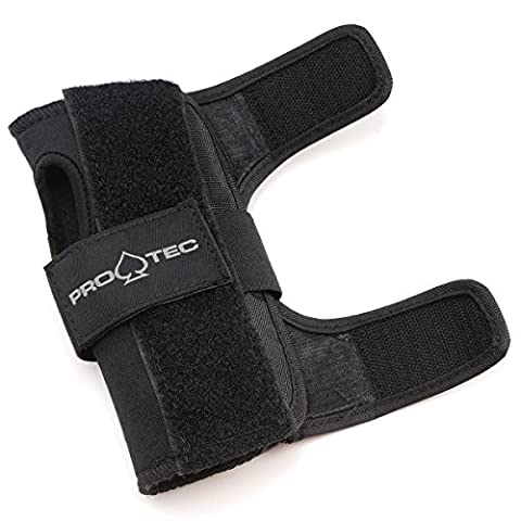 Pro-Tec Youth Street Wrist Guards - Black - Professional Roller Skating