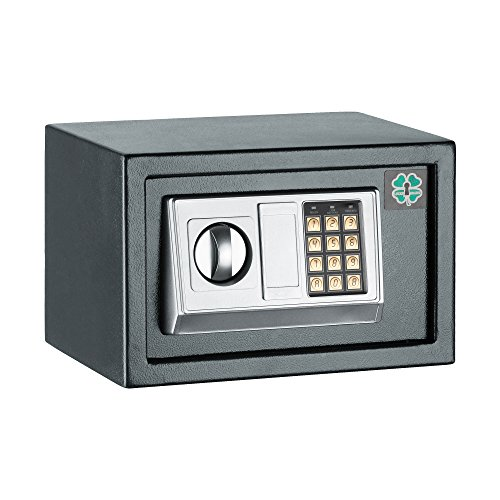 LuckyGuard Economy Electronic Safe Jewelry .28 CF Home Security Safe