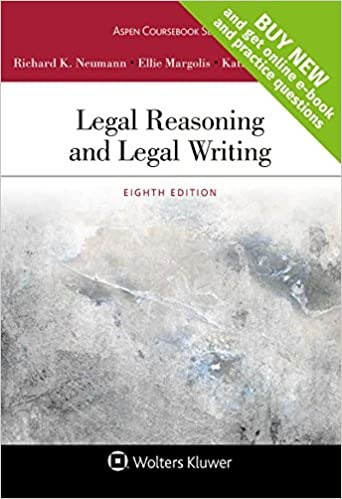 Legal reasoning and legal writing connected casebook looseleaf legal reasoning and legal writing connected casebook looseleaf aspen coursebook 8th edition fandeluxe Choice Image