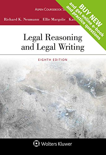 Legal Reasoning and Legal Writing [Connected Casebook] (Aspen Coursebook) by Wolters Kluwer