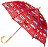 Hatley Little Boys' Umbrella, Trains, One Size