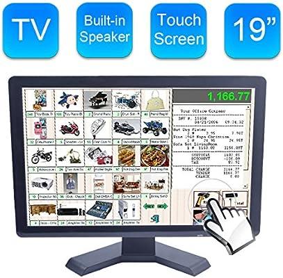 Alta Resolución 19 Pulgadas Pantalla Incorporada LED Pantalla Táctil: Amazon.es: Electrónica