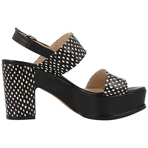 Sandalias y chanclas para mujer, color Negro , marca ZINDA, modelo Sandalias Y Chanclas Para Mujer ZINDA 2098Z Negro Negro