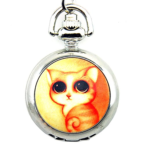 Cat Pendant Watch - 2