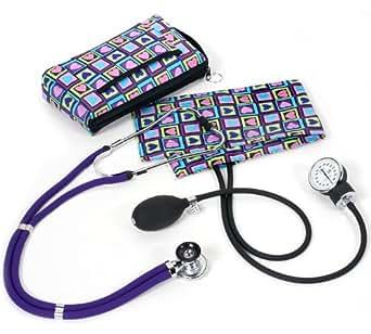 NCD Medical/Prestige Medical A2-FSH - Juego de tensiómetro de brazo y estetoscopio tipo Sprague-Rappaport