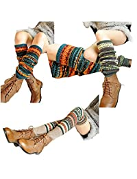 Lucky staryuan ® Cyber Monday Women Set of 3 Thicker Wool Knit Leg Warmer