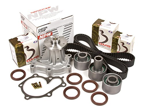 Evergreen TBK180WPN 90-96 Nissan 300ZX Non & Turbo 3.0L VG30DETT Timing Belt Kit NPW Water Pump