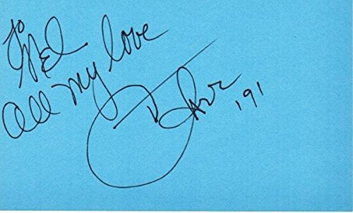 Cher Signed - Autographed 3x5 inch Index Card personalized to MEL - Legendary Actress - Singer - Guaranteed to pass or JSA - PSA/DNA Certified (Autographed Index Signed Card 3x5)