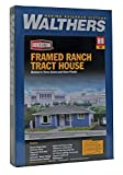 ho scale house - Walthers Cornerstone Framed Ranch Tract House Train