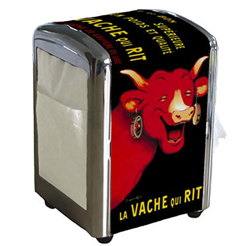 (The Laughing Cow La vache qui rit paper towel dispenser)