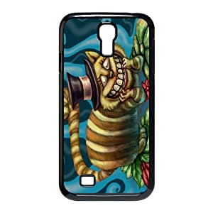 Samsung Galaxy S4 I9500 Cell Phone Case for Classic Theme lovely Cheshire Cat in Wonderland Cartoon pattern design GLYCCIW95715