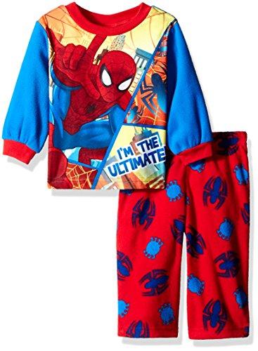 DC-Comics-Boys-Ultimate-Superman-2-Piece-Fleece-Pajama-Set