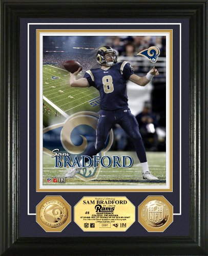 Louis Coin St (NFL St. Louis Rams 24KT Gold Coin Photo Mint)