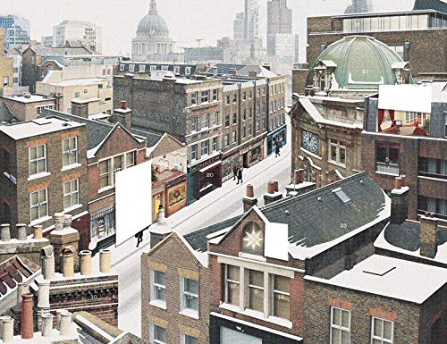 The Art File Advent Calendar - London Rooftops - Large Traditional Advent Calendar
