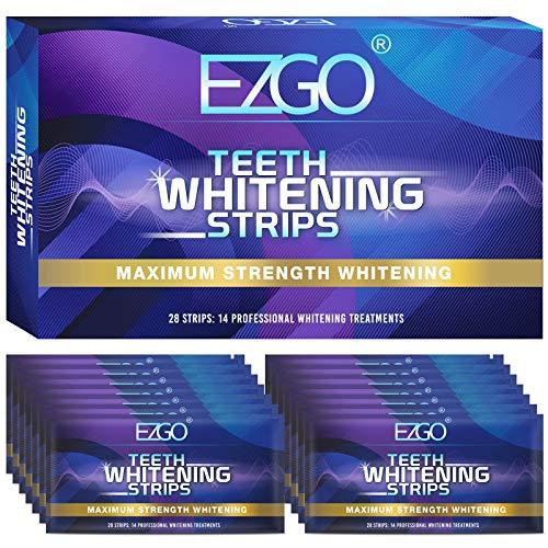 Teeth Whitening Strip, 30min Fast-Result Teeth Whitener, Non-Sensitive Whitening Strips, 14 Sets White Strips for Tooth…