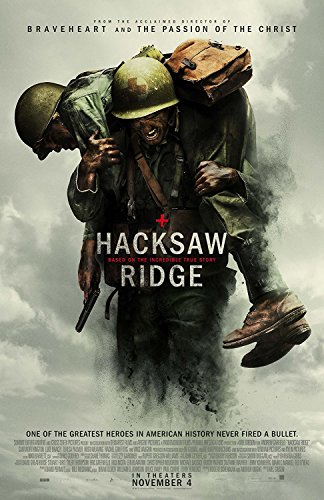 Hacksaw Ridge Movie Poster Limited Print Photo Andrew Garfield Mel Gibson Size 24x36 #1