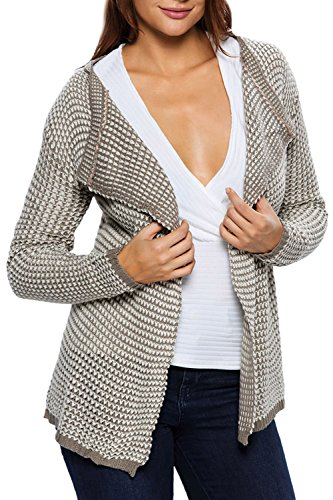 Lettre damour Mujeres Solapa Plaid Camisa Chaqueta De Punto Cardigan Sweater Black One Size: Amazon.es: Ropa y accesorios