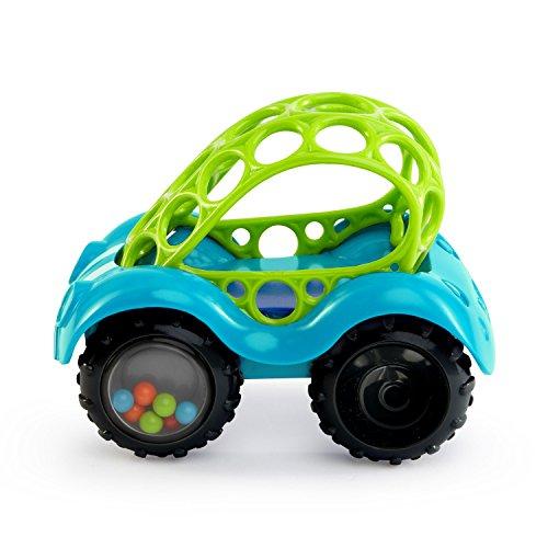 513Ahl%2BdgtL - O Ball 1-Piece Rattle & Roll Car, Assorted Colors