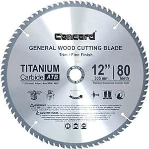 Concord Blades Wcb1200t080hp 12 Inch 80 Teeth Tct General