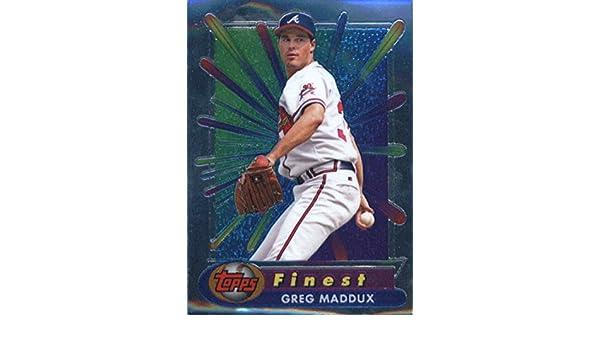 1999 Topps All-Topps Mystery Finest Refractor #M33 Greg Maddux Atlanta Braves