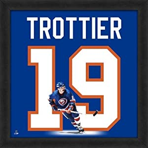 Bryan Trottier New York Islanders 20x20 Framed Uniframe Jersey Photo