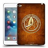 Official Star Trek Discovery Starfleet Distressed Badges Soft Gel Case for Apple iPad Mini 4