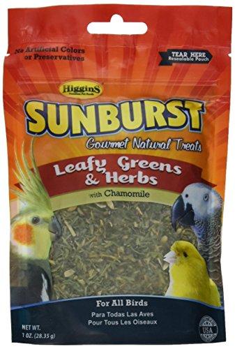 higgins-pet-food-hs32256-sunburst-treat-greens-herbs-1-oz