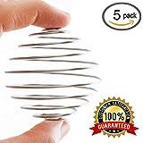 Zeta Athletics Blender Stainless Mix Shaker Ball - by 5 PACK