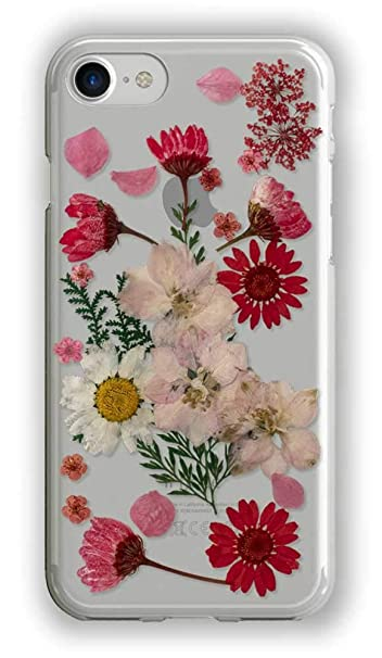 iphone 8 case red flowers