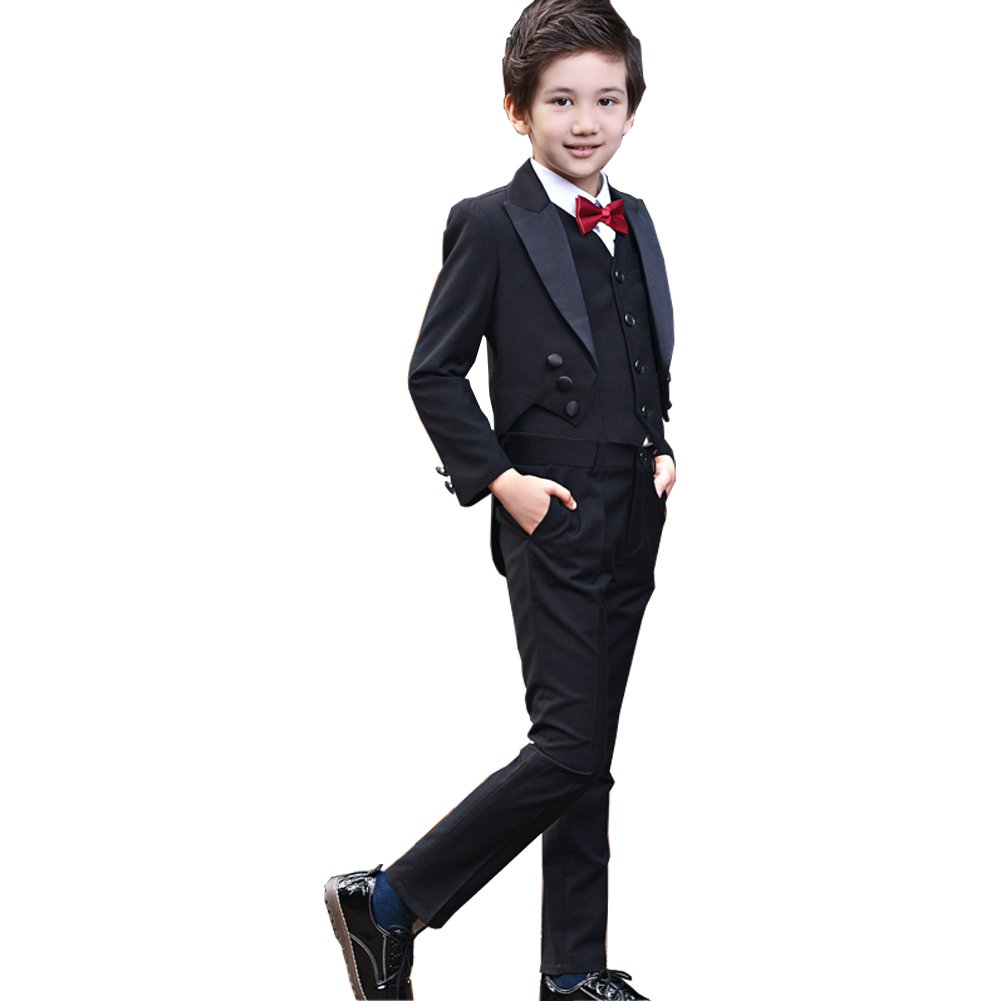 Amazon.com: Michealboy - Traje formal para niño con chaqueta ...