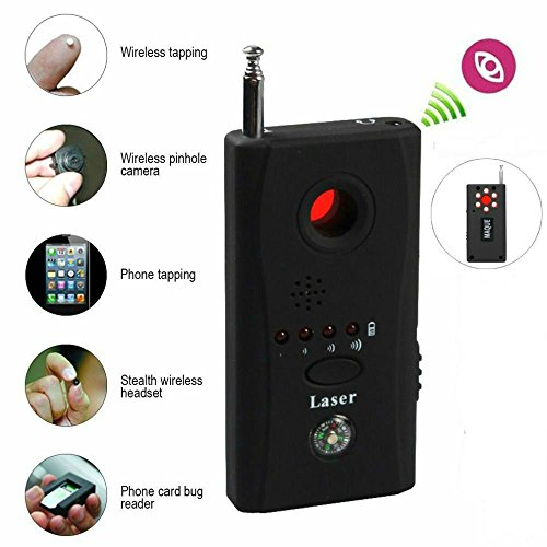MaQue Anti-Spy Hidden Camera Laser RF Signal Bug Detector GSM Device (Frequency Finder Bug)