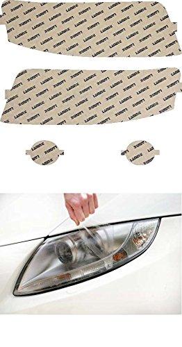 02 Clear Headlight Protection - Lamin-x A001CL Headlight Cover