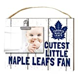 "KH Sports Fan 1001101665 10""x8"" Toronto Maple Leafs Clip It Weathered Baby Logo NHL Photo Frame"