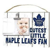 "KH Sports Fan 1001101665 10""x8"" Toronto Maple Leafs Clip It Weathered Baby Logo NHL Photo Frame"