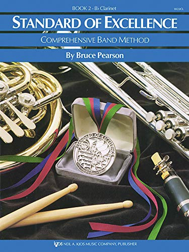 Standard of Excellence Book 2 Book Only - Clarinet