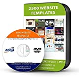 2500+ WEBSITE TEMPLATES WEB PAGE DESIGN TEMPLATES & WEBSITES + FONTS GRAPHICS & HTML, PICTURES DVD CD DISC