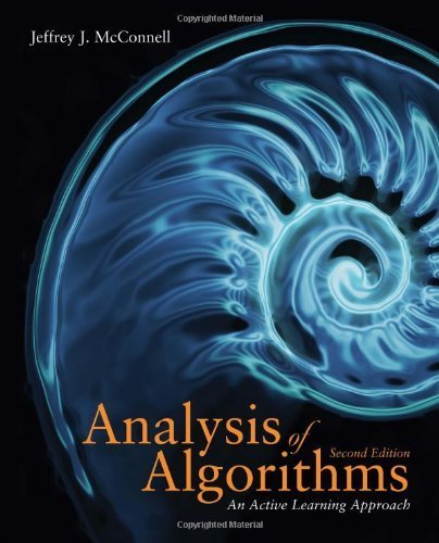 Analysis Of Algorithms 2nd edition by McConnell, Jeffrey (2007) Hardcover