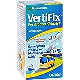 Natural Care Vertifix for Motion Sickness - 60 Vegetarian Capsules