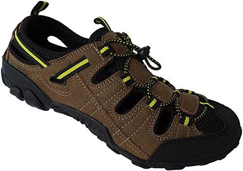 Herren Outdoorsandale Schuhe Trekking Sandale Gr.41 - 46 Art.-Nr.5343 braun