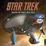 Books : Star Trek Ships of the Line 2020 Wall Calendar