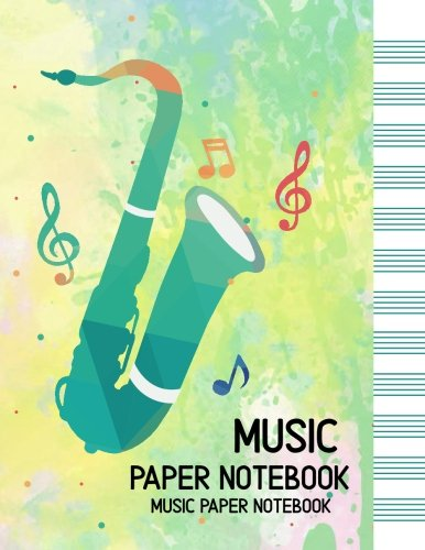 MUSIC PAPER NoteBook-Manuscript Paper: Manuscript Paper Standard Wire-Bound 12 Stave, Music Manuscript Paper, Staff Paper, Musicians Notebook (120 Pages/ 8.5x11/12 Stave) (Volume (Standard Wirebound Manuscript Paper)
