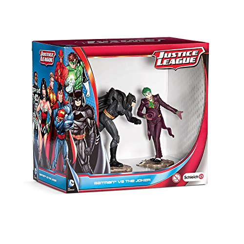 Schleich - 22510 - Figurine Bande Dessinée - Scenery Pack - Batman Vs The Joker