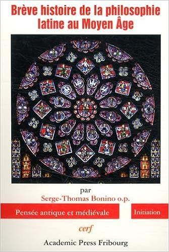 Livres gratuits Brève histoire de la philosophie latine au Moyen Age epub pdf