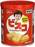 江崎グリコ ビスコ保存缶(賞味5年3ヶ月) 1缶