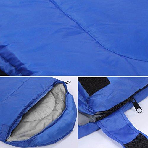 JUEYAN 3/Saison Forme /Étui avec capuche deckenschlafsack ultraleicht Couchage pour camping randonn/ée trekking 210/* 75/Cm