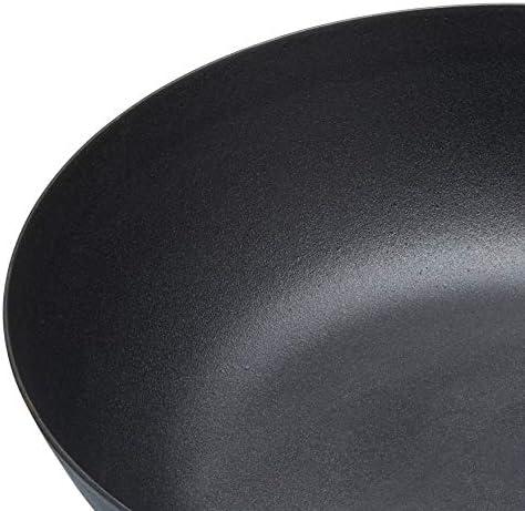 Negro 30 cm Master Class Wok Profesional Antiadherente, inducci/ón, 20 cm