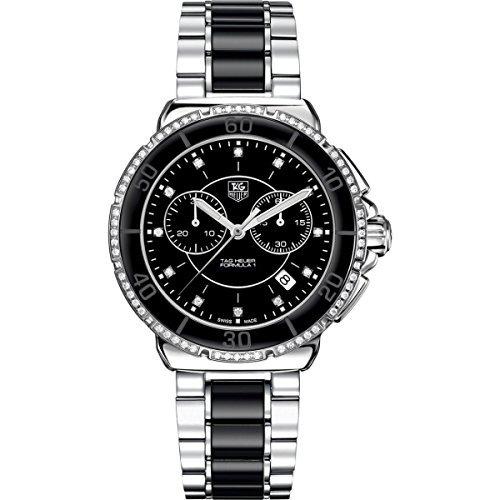 TAG Heuer Formula One de la mujer negro diamante cronógrafo reloj CAH1212. BA0862, Modelo